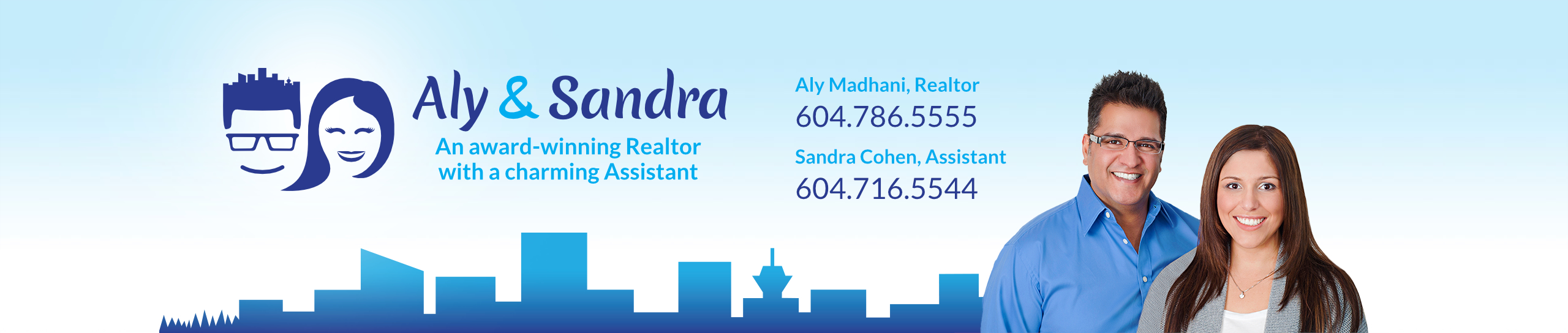 Aly Madhani & Sandra Cohen - Superb Service - Unbeatable Rates